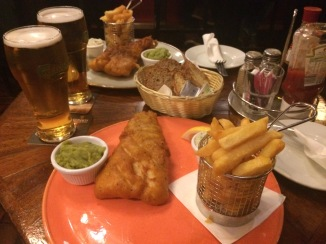 Fish and Chips in Killarney, IE 2016